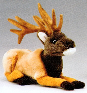 Wildlife Artists Stuffed Plush Elk