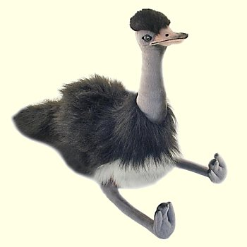 stuffed toys - Stuffed Emu - Birds