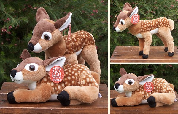 Stuffed Fawn Baby Deer