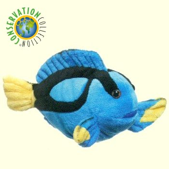 Plush blue tang fish stuffed animal for Fish stuffed animal