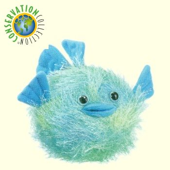 Plush puffer blow fish stuffed animal for Fish stuffed animal
