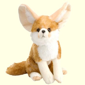 Wild Republic Stuffed Plush Fennec Fox
