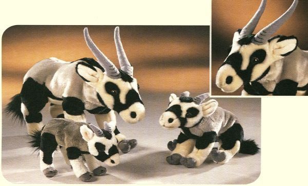 Stuffed Gemsbok