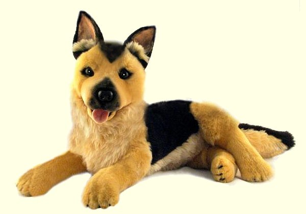 stuffed toys - Stuffed German Shepherd - Dogs