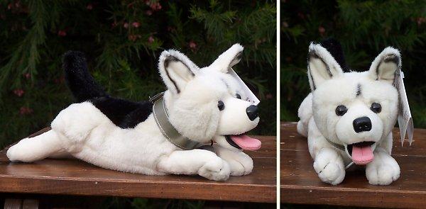 stuffed toys - Stuffed German Shepherd - Dogs