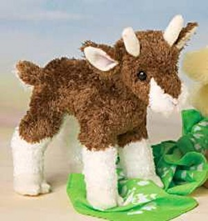 Buffy Plush Baby Goat