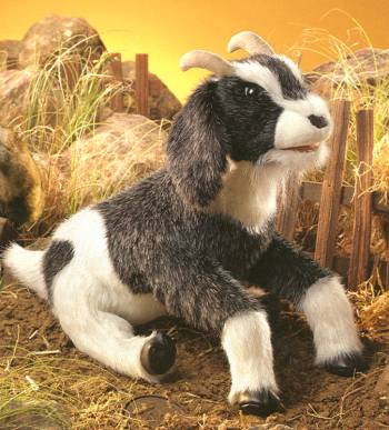 stuffed toys - Stuffed Goat - Farm Animals