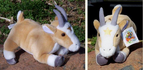stuffed toys - Stuffed Goat - Farm Animals