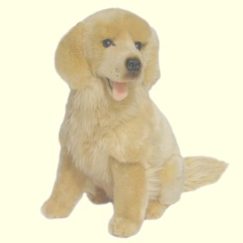 Goldie the Stuffed Plush Golden Retriever