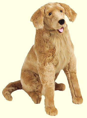 Stuffed Plush Golden Retriever