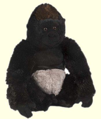 stuffed toys - Stuffed Silverback Gorilla - Monkeys