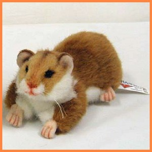 stuffed toys - Stuffed Hamster - Farm Animals