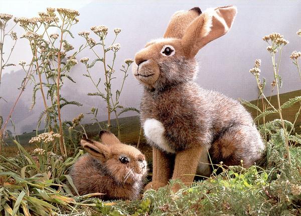 Kosen European Stuffed Plush Hares