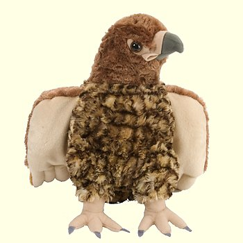 stuffed toys - Stuffed Red Tailed Hawk - Birds