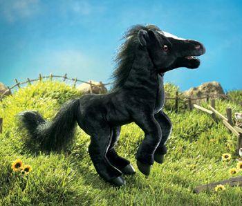 Black Horse Stuffed Animal