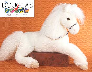 Grace Plush White Horse