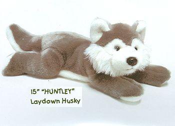 stuffed toys - Stuffed Husky - Dogs