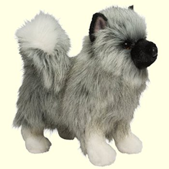 Umbra the Stuffed Keeshond