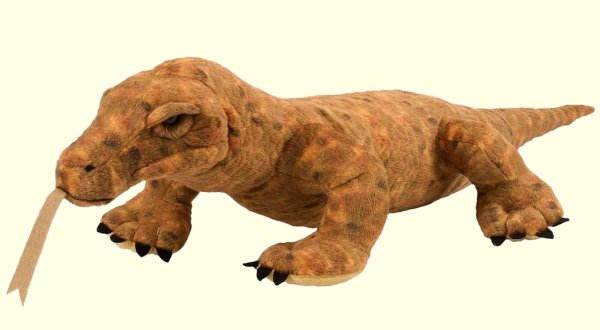Stuffed-Komodo-Dragon