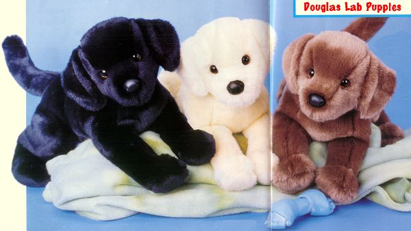 stuffed toys - Stuffed Lab - Dogs