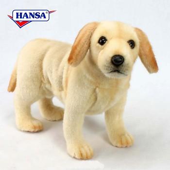 Hansa Stuffed Yellow Labrador Retriever