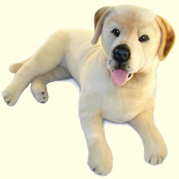 stuffed toys - Stuffed Yellow Lab - Dogs