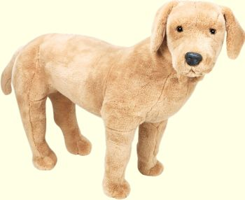 Plush Yellow Labrador Retriever Stuffed Animal