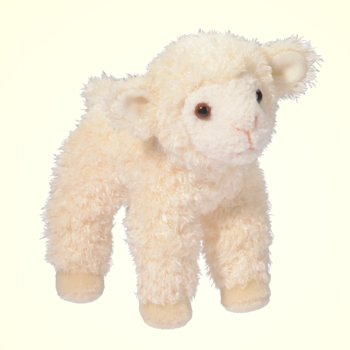 Douglas Little Bit Plush Lamb