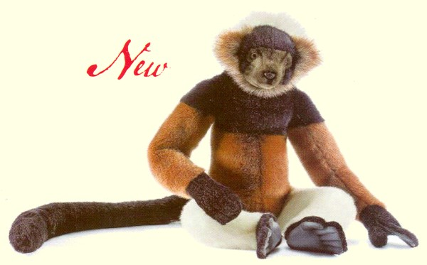 stuffed toys - Stuffed Madagascar Lemur - Monkeys