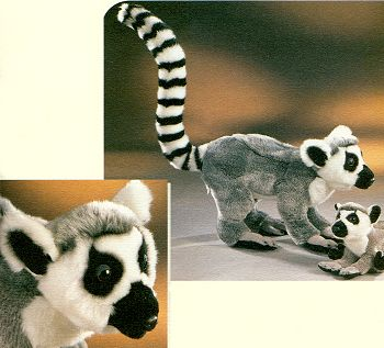 Leosco Stuffed Plush Lemur