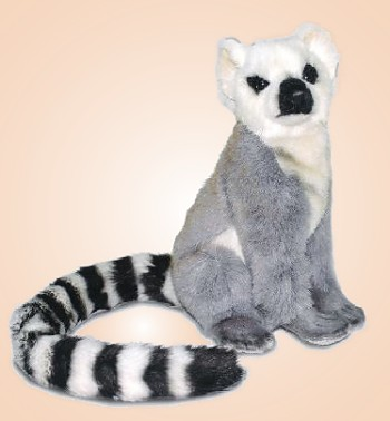 stuffed toys - Stuffed Lemur - Monkeys