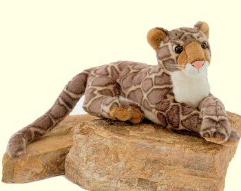 Clouded Leopard Stuffed Animal
