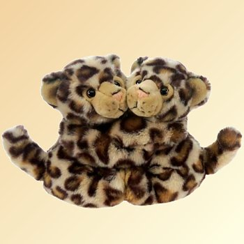 stuffed toys - Stuffed Clouded Leopard - Jungle Cats