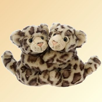 stuffed toys - Stuffed Snow Leopard - Jungle Cats