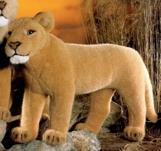 stuffed toys - Stuffed Lioness - Jungle Cats