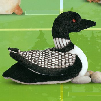stuffed toys - Stuffed Loon - Birds