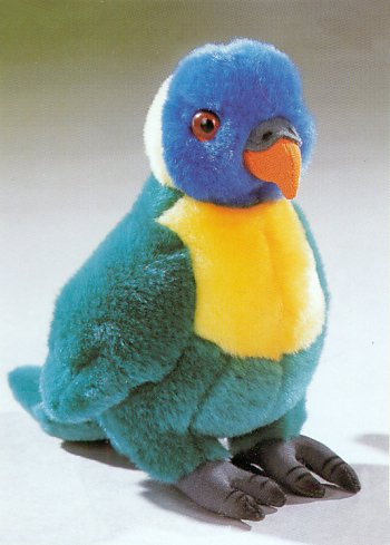 stuffed toys - Stuffed Lorikeet - Birds