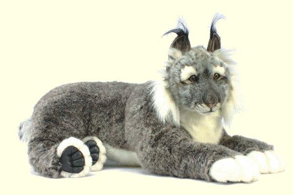 stuffed toys - Stuffed Lynx - Jungle Cats