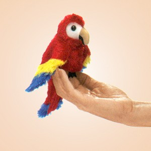 Stuffed Scarlet Macaw