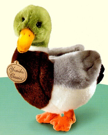 Stuffed Plush Mallard Duck from Stuffed Ark