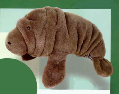 Choppy Stuffed Manatee