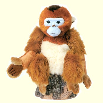 Stuffed Golden Monkey