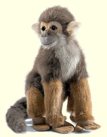 Hansa Stuffed Plush Squirrel Monkey