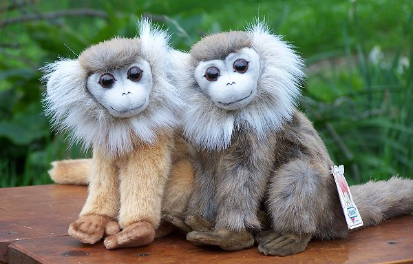 stuffed toys - Stuffed Leaf Monkey - Monkeys