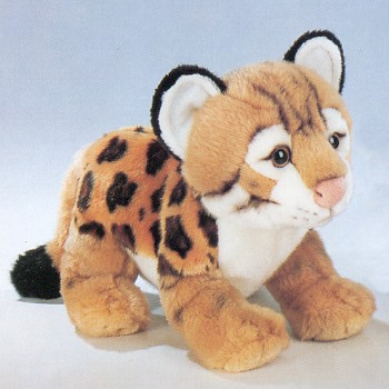 stuffed toys - Stuffed Ocelot - Jungle Cats