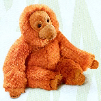 stuffed toys - Stuffed Orangutan - Monkeys