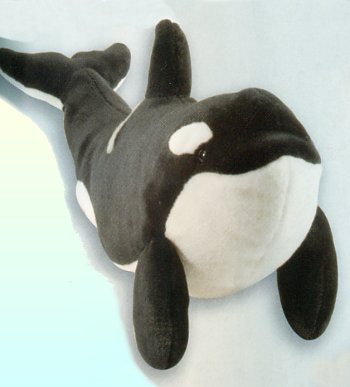 Plush Orca Whale Stuffed Animal