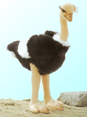stuffed toys - Stuffed Ostrich - Birds
