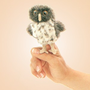 stuffed toys - Stuffed Spotted Owl - Birds