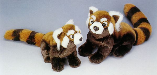 Stuffed Red Panda